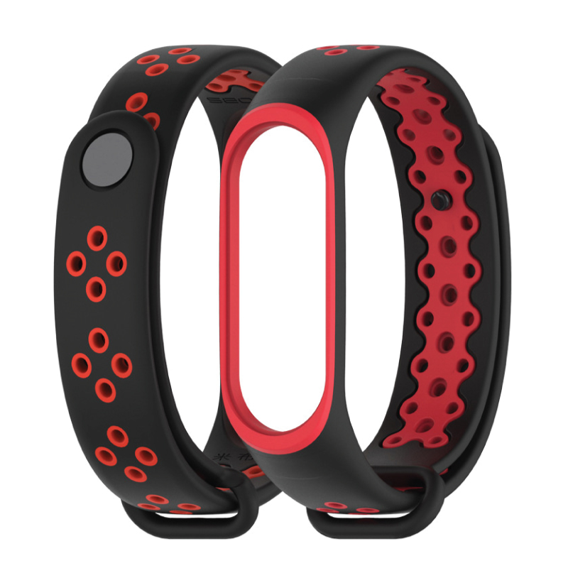 Mi Band 3/4 Hollow Breathable Strap