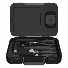 MIIIW Household Hand Tool Kit Toolbox